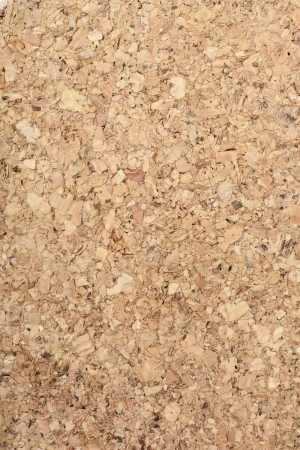 closeup of cork board pattern photo