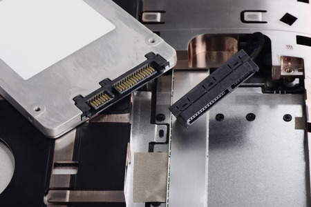 solid state drive: replacing a HDD with a Solid State Drive on Laptop computer