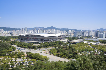 worldcup: Soccer Stadium in Seoul for 2002 World Cup