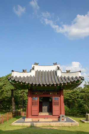 Monument house of Jangneung in Gimpo, Korea photo