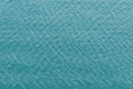 placid water: gentle waves pattern of Jeju Island sea in Korea