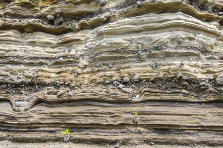 sedimentary: Sedimentary Rock (Pyroclastic deposit) at Suwolbong