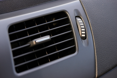 air vent on a dashboard of a car for air circulation