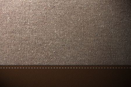 backcloth: Brown fabric and Brown Leather Texture Background