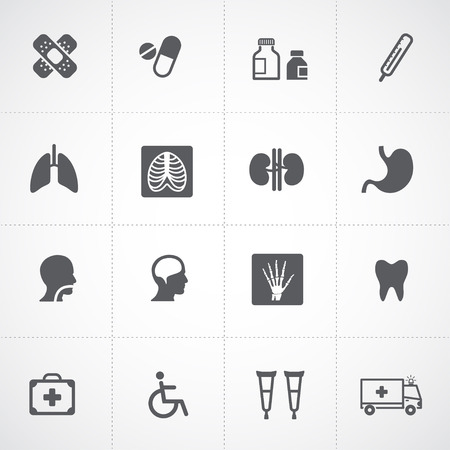 Health icons and Medical Icons