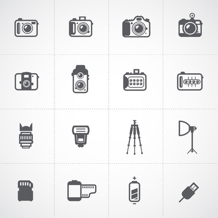 camera: Camera Icons and Camera Accessories Icons and Photography Icons