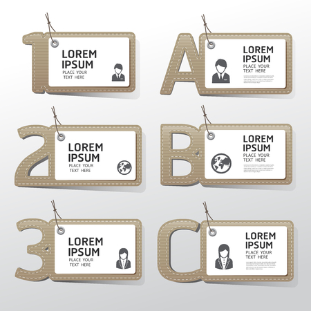 paper tag: labels paper tag style. Sale banners price tag paper card Illustration