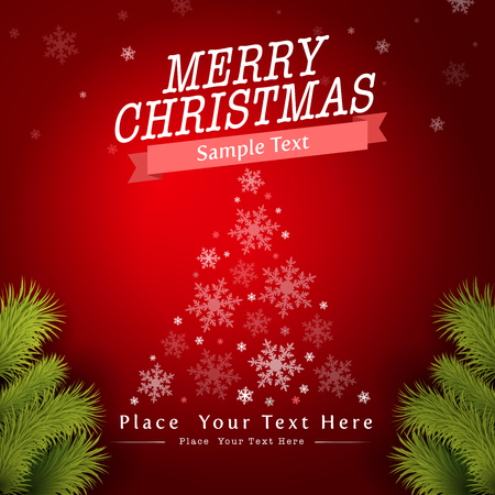 season s greeting: Christmas Greeting Card. Merry Christmas lettering