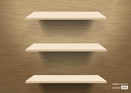 wooden shelves: wooden shelves background