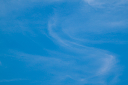 blue cloudy sky: Cloudy blue sky abstract background Stock Photo