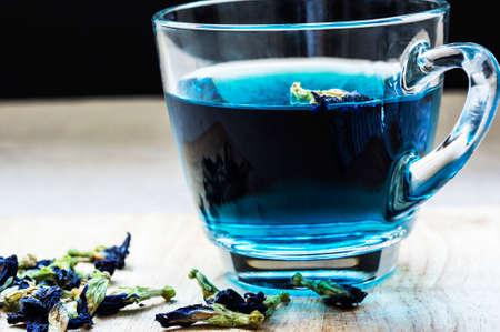 antispasmodic: Herbal butterfly pea flower tea