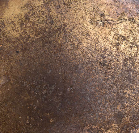 oxidate: Dirty old rusted metal surface-Close-up - Rusty iron background
