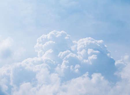 cumulonimbus: Blue sky - White cloud in the blue sky - Cumulonimbus Cloud-Skies background Stock Photo
