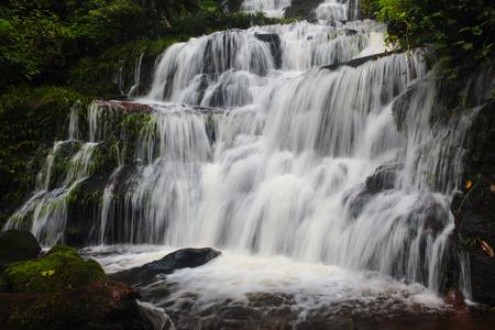 Mundaeng Waterfall at Phu Hin Rong Kla, Phitsanulok, Thailand