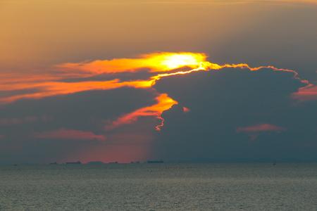 Sunrise at Vongdeuan Beach, Ko Samet, Rayong, Thailand