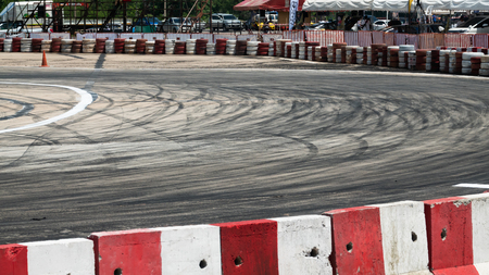 June 14-16, 2019 Khon Kaen, Thailand : Underground Operation 2019 Drift Driving Competition by Professional Drivers at  Khonkaen Province, Thailand, during 14-16 June 2019