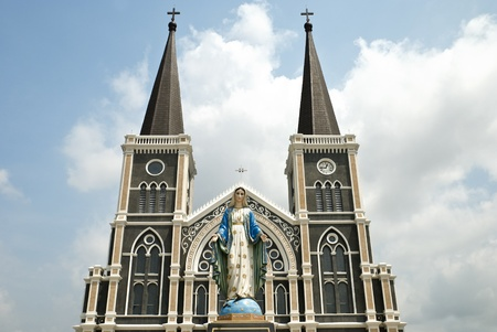 Beautiful church in Thailand Stock Photo - 13582087