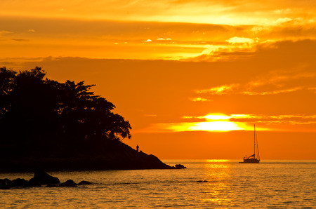 Romantic sunset at Lipe Island photo