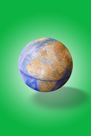 image of green earth concept. photo