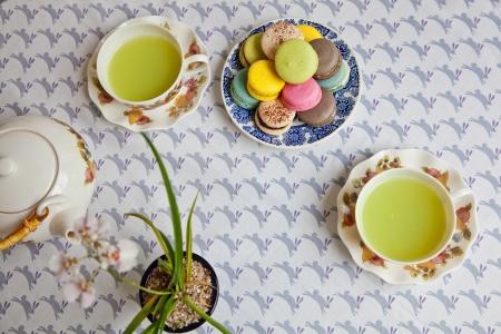 ながらコツと緑茶のイメージ