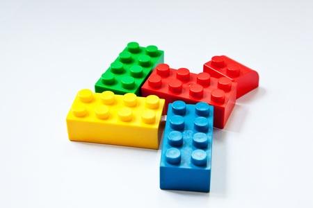 close up image of plastic blocks