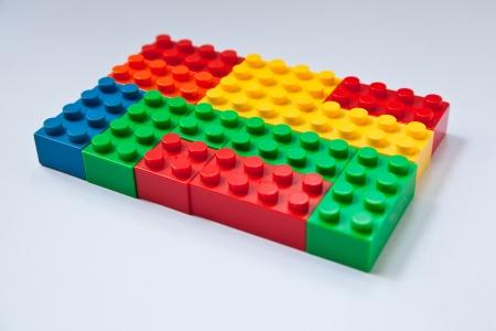 おもちゃのプラスチック ブロックのイメージ