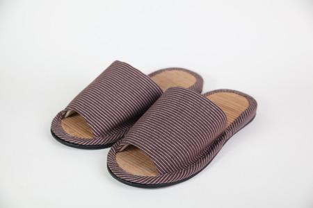 slipper: home use slipper shoe on white background