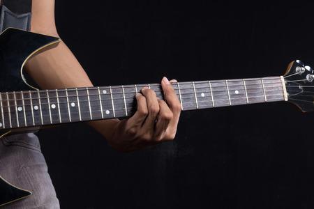 chord: B guitar chord