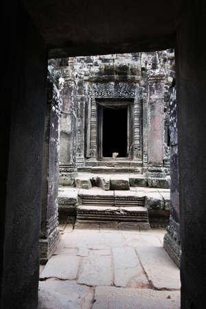 thom: angkor thom Stock Photo