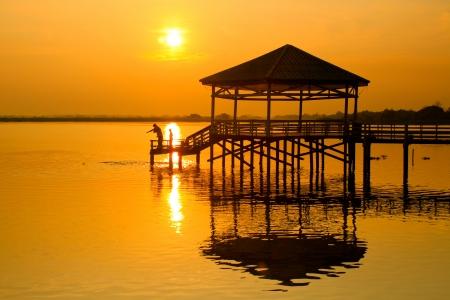 chit: Lake of Phi Chit north of thailand