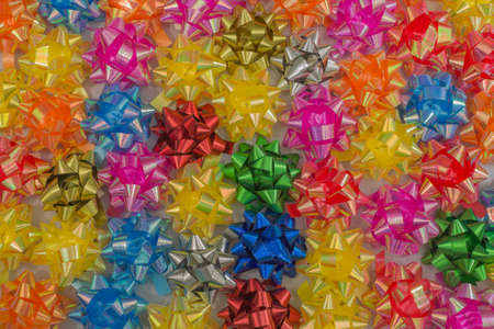 colorful bows photo