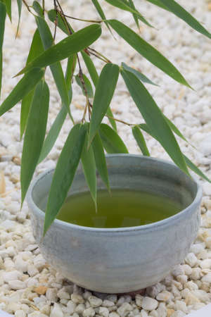 matcha green tea bowl cup photo