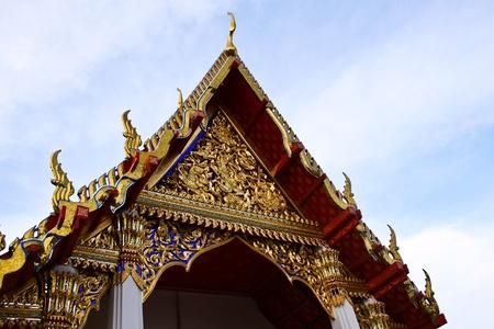 bangkok temple: Thailand - Bangkok - Temple -  Stock Photo
