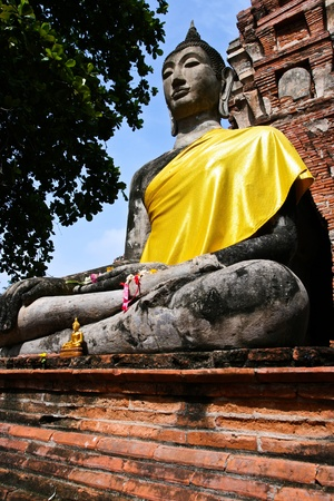 ayutthaya: Old Temple of Ayuthaya, Thailand