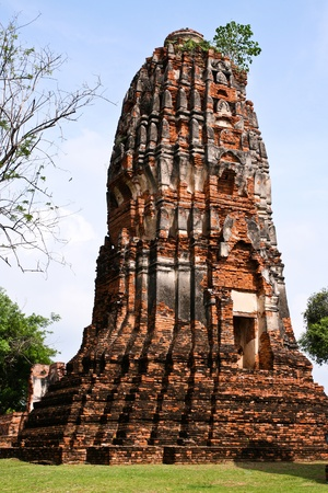Old Temple of Ayuthaya, Thailand