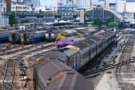 rapid steel: State Railway of Thailand.