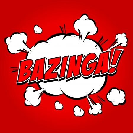 craquelure: Bazinga bulle BD, bande dessin�e