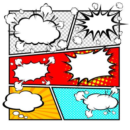 コミック テンプレート ベクトル 写真素材 - 25179853