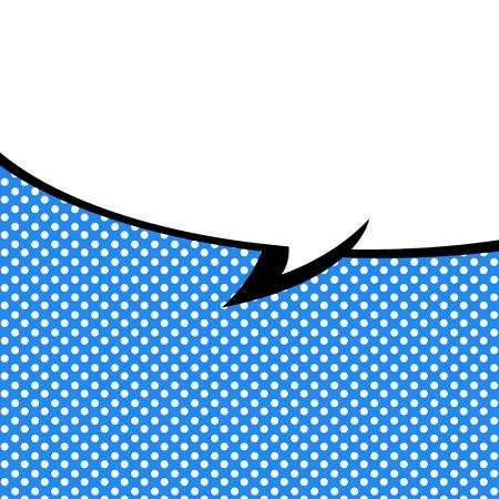 音声バブル ポップアート スタイル