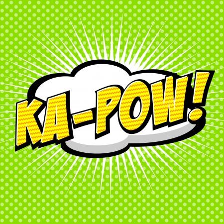 zonk: Ka-Pow  Comic Speech Bubble, Cartoon