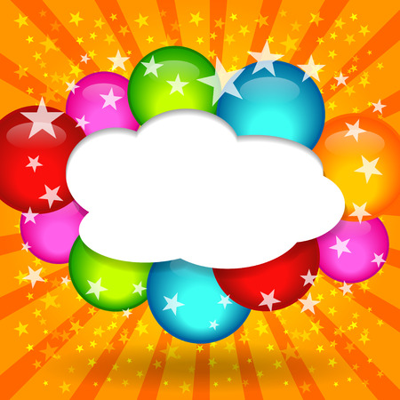 comic speech bubbles,Vector Illustration Stock Vector - 25761857