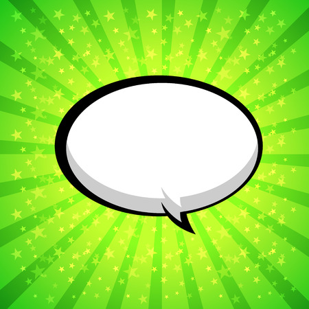comic speech bubbles,Vector Illustration Stock Vector - 25761874