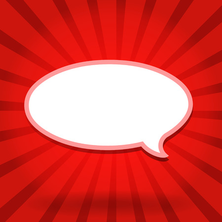 comic speech bubbles,Vector Illustration Vector