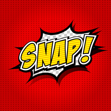 snaps: Snap  Comic Speech Bubble, Cartoon