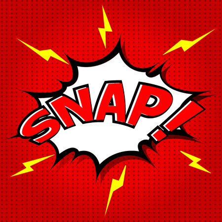 snap: Snap  Comic Speech Bubble, Cartoon