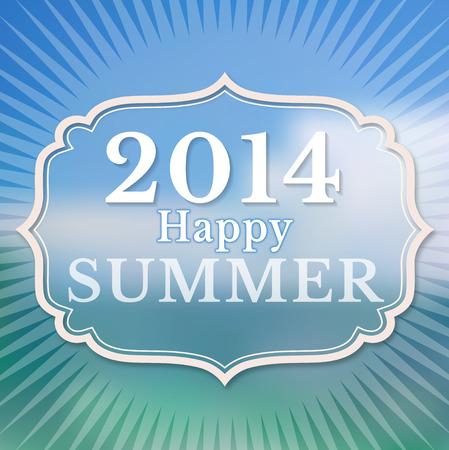 happy summer: 2014 Happy Summer
