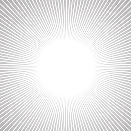 Radial Speed Lines graphic effects for use in comic  Illustration