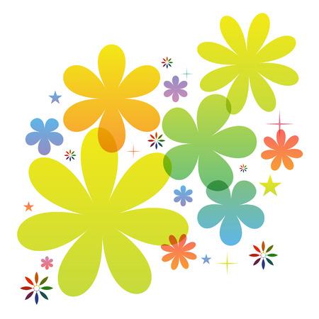 Flower Icon Vector illustration   Vector