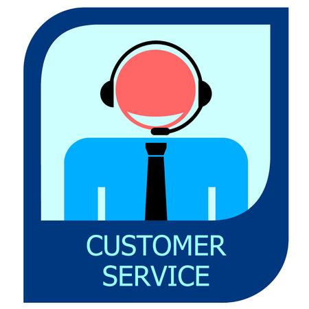 I con Customer service Vector