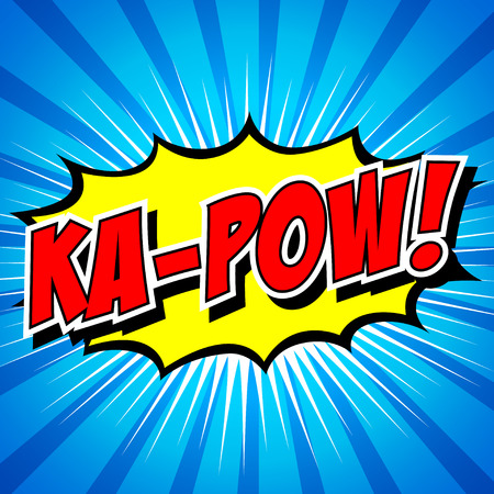 craquelure: Ka-Pow Comic Bulle, Cartoon